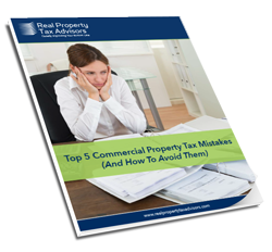 Learn how to avoid the five most common commercial property tax mistakes companies make.